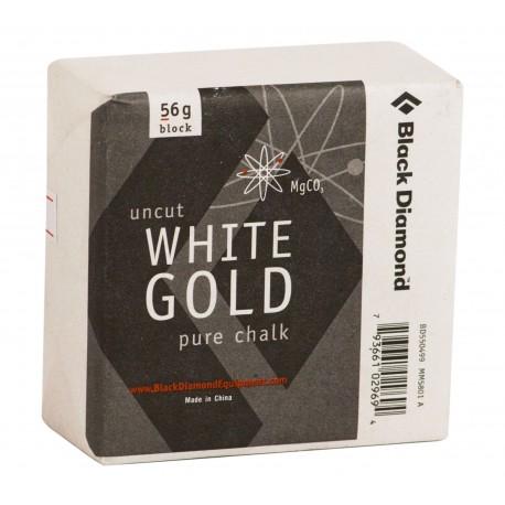 Black Diamond (BD): Chalk, Block 56g - White Gold