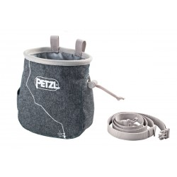 Chalk Bag Saka, grau meliert