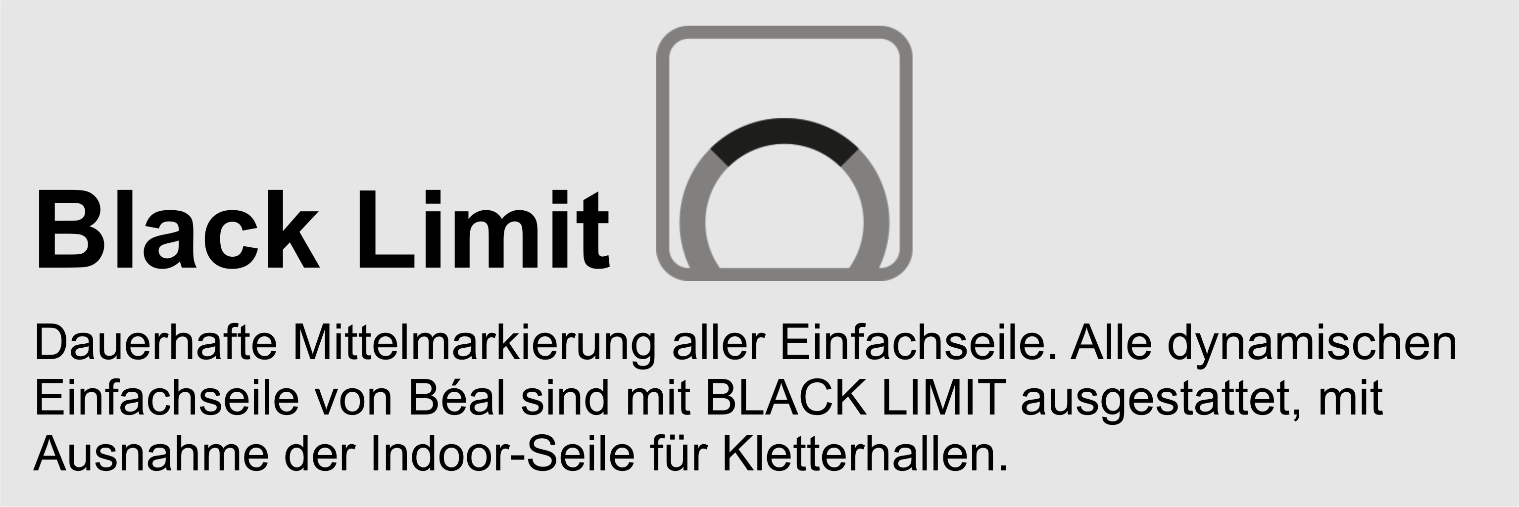 Beal Seile: Black Limit