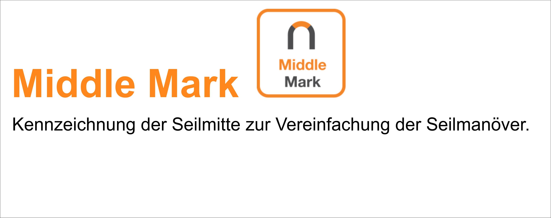 Petzl Seile: Middle Mark