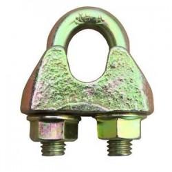 Bügelseilklemme / Drahtseilklemme, 10mm, galvanisch verzinkt