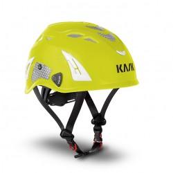 KASK Helm: Plasma Hi Viz, gelb-fluo u. refl. Aufkleber