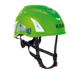 KASK, Super Plasma PL Hi Viz, grün-fluo u. refl. Aufkleber
