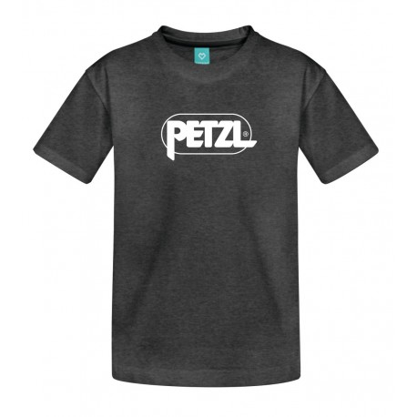 Petzl: Adam, Herren T-Shirt, S, asphaltgrau