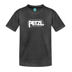 Petzl: Adam, Herren T-Shirt, L, asphaltgrau