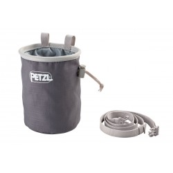 Petzl, Chalk Bag Bandi, grau
