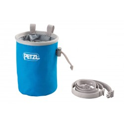 Petzl, Chalk Bag Bandi, methylblau