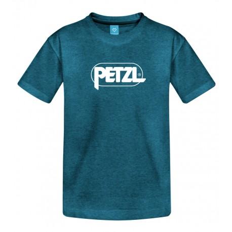 Petzl, Adam, Herren T-Shirt, L, blau