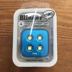 Vorderlicht Blinder 4 Led blau