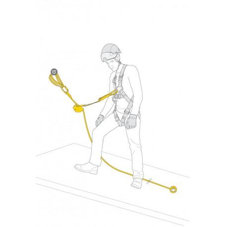 Petzl, ASAP Lock - Vertical Lifeline, 10m