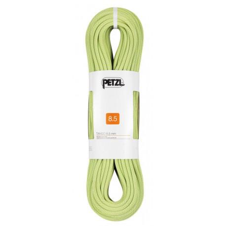 Petzl, Tango 8.5mm, 60m, gelb - Halbseil, Zwillingsseil, Kletterseil