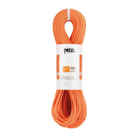 Petzl, Halbseil, Zwillingsseil, Paso Guide 7.7mm, 70m, orange