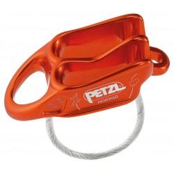 PETZL, Reverso, rot/orange (Sicherungsgerät, Abseilgerät)