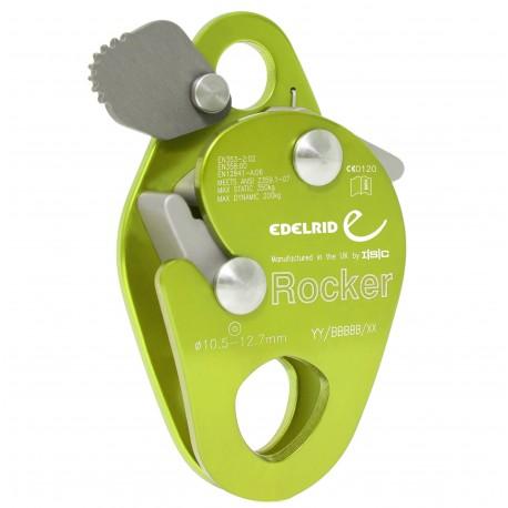 Edelrid, Rocker, grün (mitlaufendes Auffanggerät)