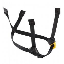 Petzl: DUAL-Kinnband, gelb/schwarz, standard, für Helme Vertex (ab 2019) und Strato