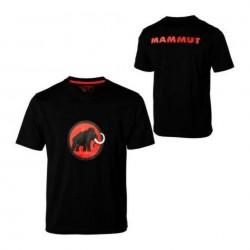 Mammut, Logo-Shirt, Herren T-Shirt, L, schwarz