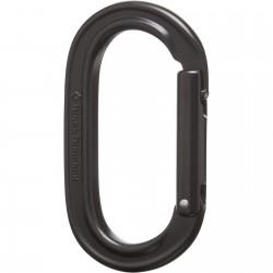 Black Diamond: Karabiner Oval Keylock, schwarz