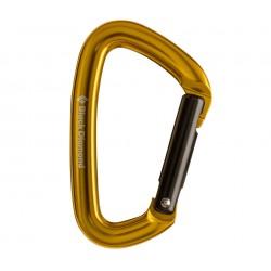 Black Diamond, Karabiner Positron straight, yellow-gold