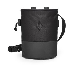 Black Diamond, MOJO Zip Chalk Bag, S/M, schwarz