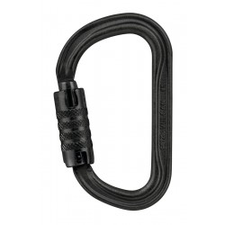 Petzl, Karabiner Vulcan TL, schwarz, international