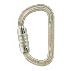 Petzl, Karabiner Vulcan TL, goldfarben, international