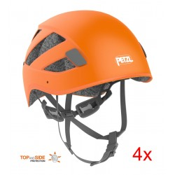 Petzl, Kletterhelme Boreo Club, Gr. 1, orange (4er-Pack)