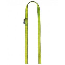 Edelrid, Bandschlinge 16mm, 120cm, grün mit schwarz