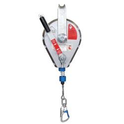 IKAR, Höhensicherungsgerät HRA mit Rettungshub, 24m
