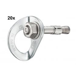 Petzl, Komplettanker, Anschlagpunkt Coeur Bolt Steel, 12mm (20Stk.)