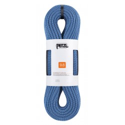 Petzl, Seil: Contact 9.8mm, 80m, blau