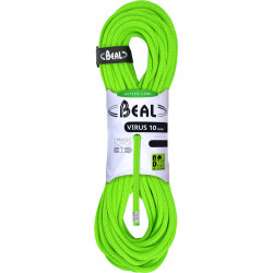 BEAL, Dynamikseil, Virus 10mm, 50m, green - Kletterseil, Einfachseil