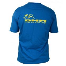 DMM-Shirt, Herren T-Shirt, L, blau