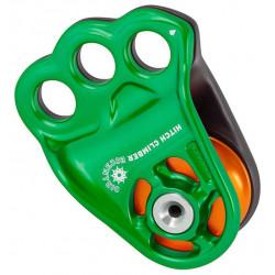 DMM, Seilrolle Hitch Climber Eccentric, grün