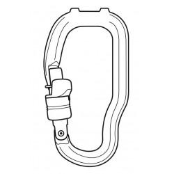Petzl Karabiner Trac Guide Seilrolle