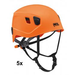 Petzl, Helm Panga, Einheitsgrösse, orange - 5er Pack